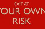 """Εικόνα για το άρθρο """"Exit with your own risk..."""""""