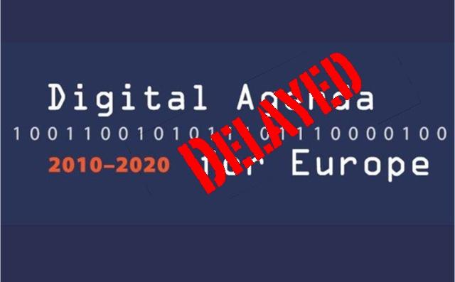 Digital-agenda-delays