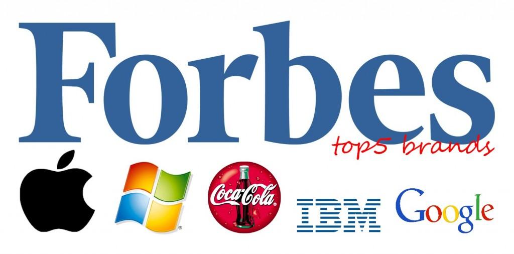 Τα 5 ισχυρότερα brands σύμφωνα με το Forbes