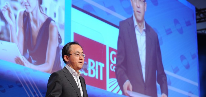 SP Kim delivering keynote at CeBIT 2014