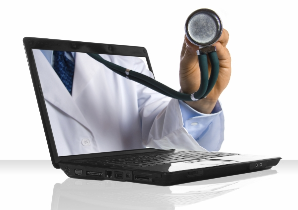 doctor-arm-in-laptop