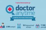 """Εικόνα για το άρθρο """"2 χρόνια λειτουργίας doctoranytime.gr ένας «χάρτης» υγείας για την Ελλάδα """""""