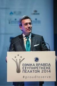 Ο Νίκος Χατζηνικολάου, guest speaker της 5ης απονομής Βραβείων Εξυπηρέτησης Πελατών