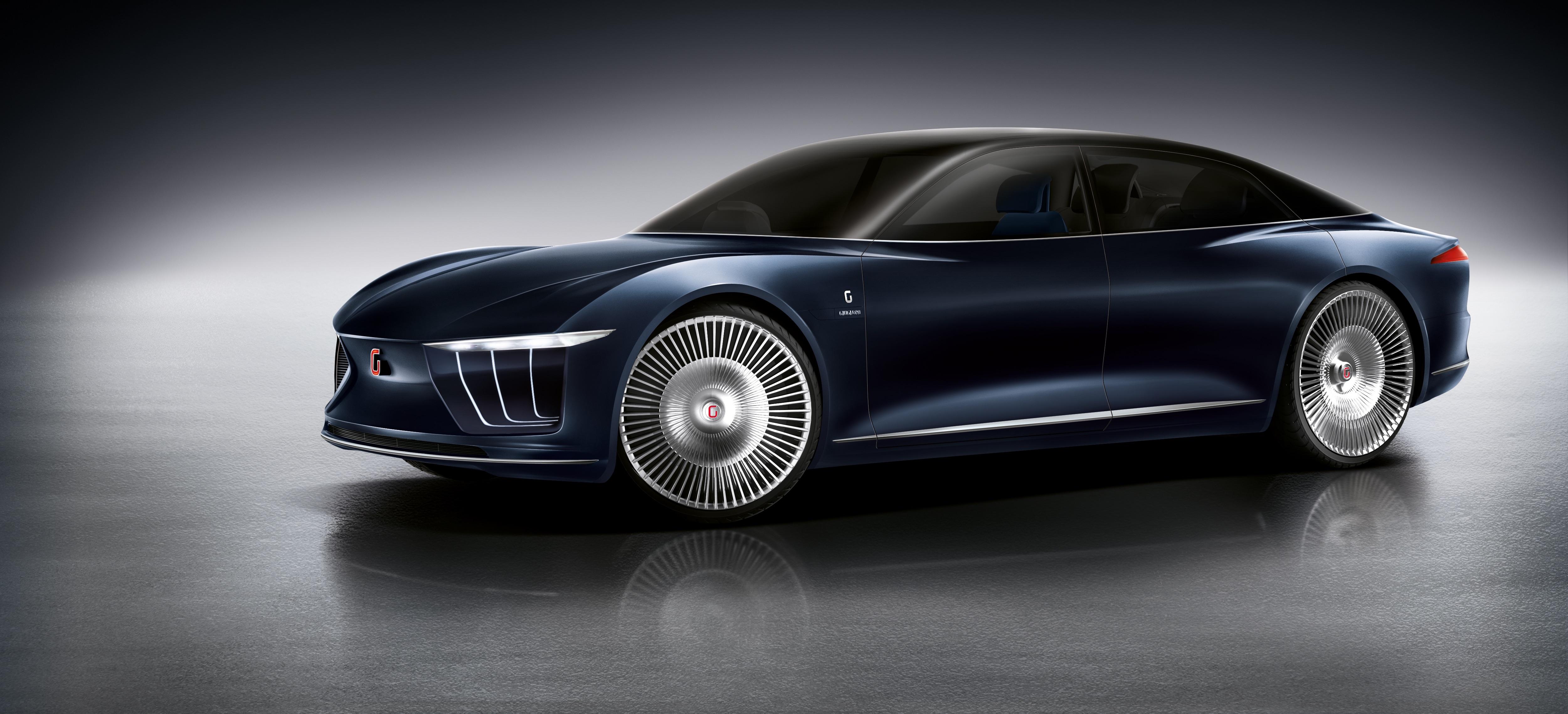 Concept car Gea at Geneva Motor Show