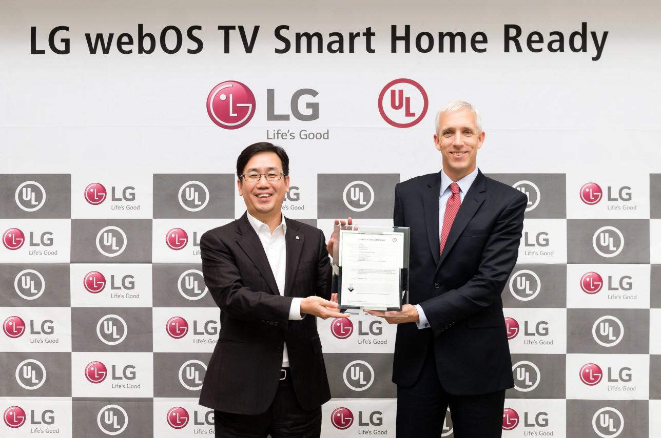 LG webOS 3.0 UL verfication
