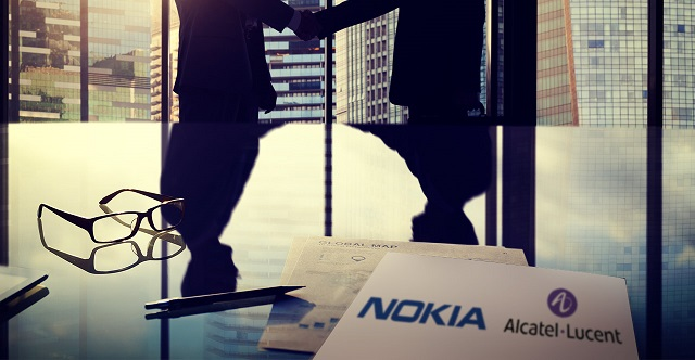 nokia-corporation-adr-nok-looks-forward-to-acquire-alcatel-lucent-sa-adr-al