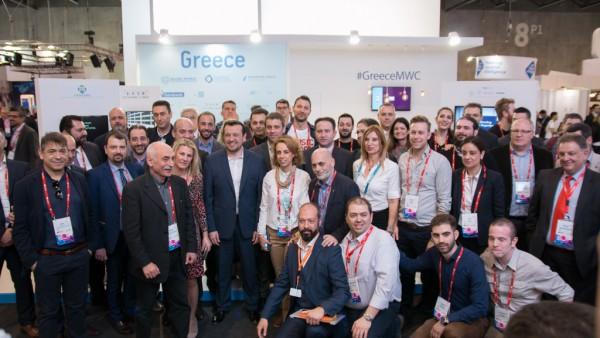 Παρουσία του Νίκου Παππά τα εγκαίνια του ελληνικού περιπτέρου στο MWC 2017