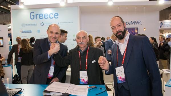 Κορυφώθηκαν οι εργασίες της ελληνικής αποστολής στο MWC 2017
