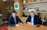 """Εικόνα για το άρθρο """"Θέματα επαγγελματικής εκπαίδευσης συζήτησαν οι Γιώργος Τσαπρούνης & Δημήτρης Μπαξεβανάκης"""""""