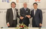 """Εικόνα για το άρθρο """"Η BT και η Huawei επενδύουν £25 εκ. σε κοινή ομάδα R&D στο Πανεπιστήμιο του Cambridge"""""""