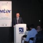 Ο κ. Γεώργιος Δημητριάδης, Διευθυντής ΙΤ&Τ, Διεθνής Αερολιμένας Αθηνών