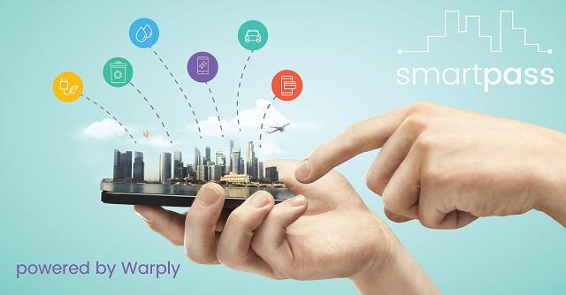 Smartpass Warply press release