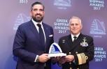 """Εικόνα για το άρθρο """"Η Ασπίδα κέρδισε το βραβείο Intelligence Big Data της Lloyd List στα Greek Shipping Awards"""""""